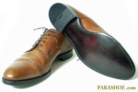 ジョンストン&マーフィーの紳士靴のソール交換後
