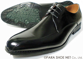 PARASHOE スワールモカ ビジネスシューズ 黒 3E(EEE) 22cm、22.5cm、23cm、23.5cm、24cm