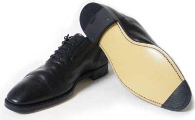 スコッチグレイン 革靴 ソール交換修理