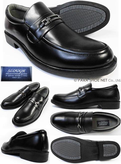 SLOVGH ビットローファー ビジネスシューズ 紳士靴 黒 3E(EEE)28cm(28.0cm)、29cm(29.0cm)、30cm(30.0cm)