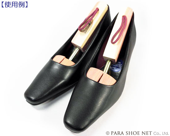 パンプスに装着例-ROCHESTER(ロチェスター)レッドシダーシューツリー レディース 婦人靴用