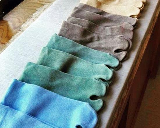 草木染め足袋ソックス(靴下)