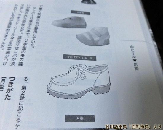 チロリアン・シューズ 【Tirolean shoes】のイラスト/百靴事典