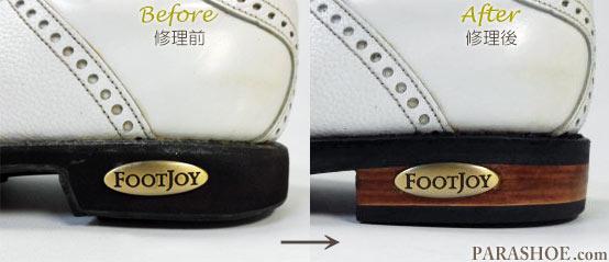 FOOT JOY(フットジョイ)ブランドプレート復元