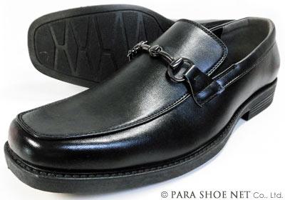 DECT ビットローファー ビジネスシューズ 黒 ワイズ4E(EEEE) 27.5cm、28cm(28.0cm)29cm(29.0cm)【大きいサイズ(ビッグサイズ)メンズ紳士靴】