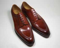ハンドソーンウェルト製法のドレスシューズ紳士靴(Saion/横山直人)