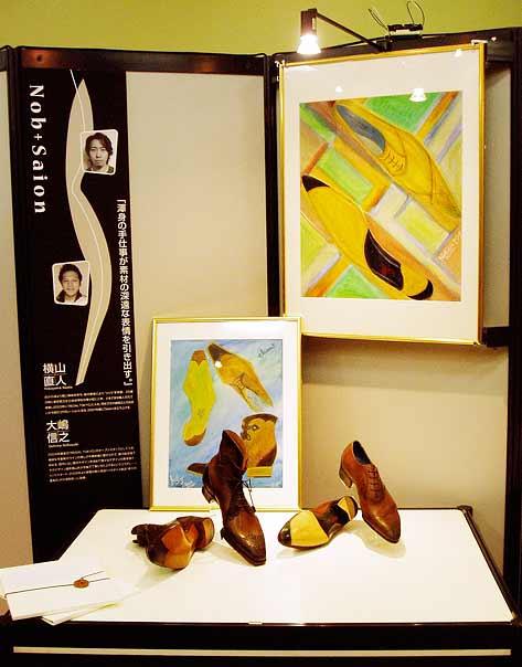 NOB大嶋信之×SAION横山直人/ISF(インターナショナル シュー&レザーグッズ フェアー)2007
