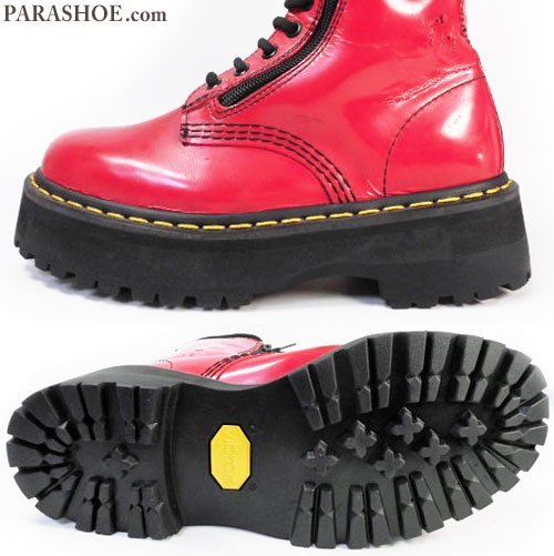 ビブラム1136(黒)厚底ソール/ドクターマーチン(Dr.Martens)ブーツ