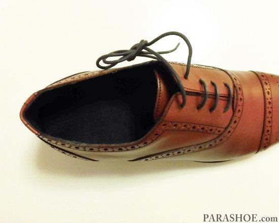 インソールを入れた革靴