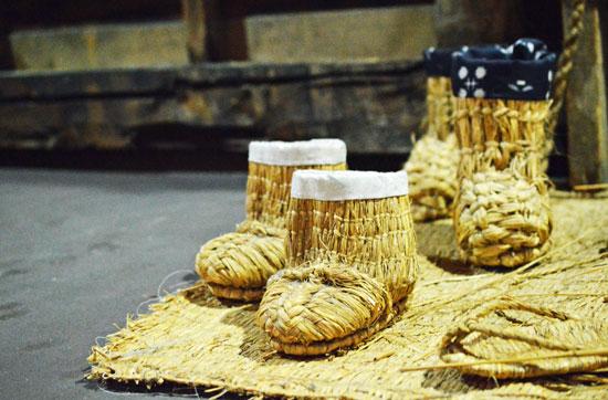 藁靴・藁沓(わらぐつ/Waragutsu)深靴(ふかぐつ/Fukagutsu)