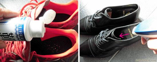 靴のイヤな臭いを取り除く方法