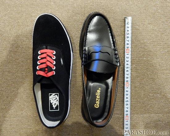 ローファーのサイズ選び方法。スニーカーサイズとの違いと、サイズ合わせ(フィッティング)について