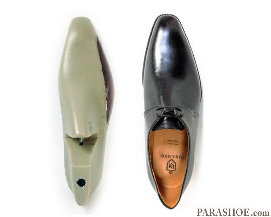 木型(ラスト/プラ型)から作られたドレスシューズ(革靴・ビジネスシューズ・紳士靴)